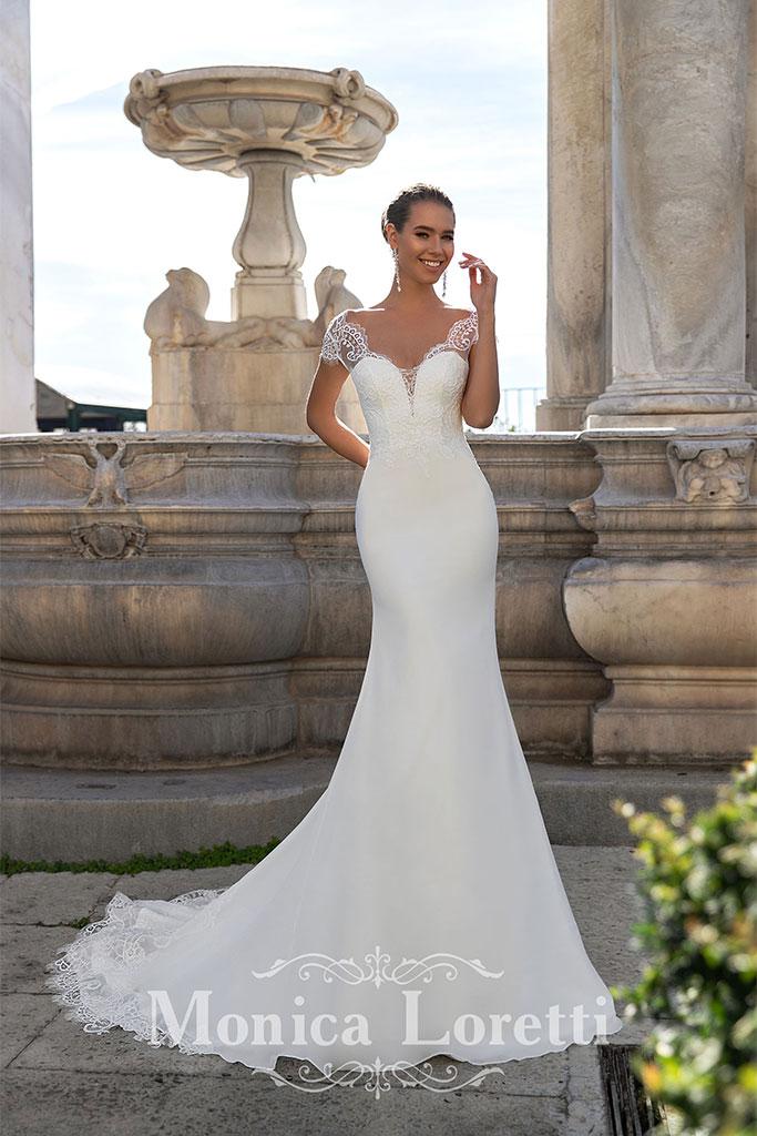 Monica Loretti gowns found at at Brides By Elizabeth - San Antonio Weddings